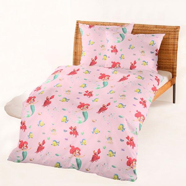 disney arielle baumwollstoff 2 rosa disney. Black Bedroom Furniture Sets. Home Design Ideas