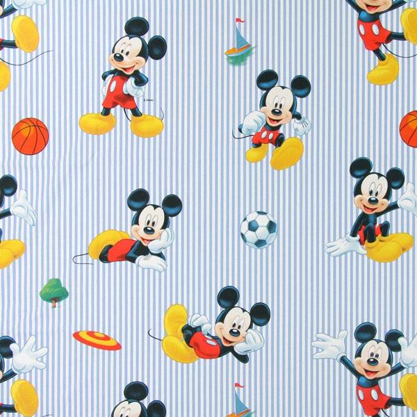 Blaue Baumwolle 'Disney Sport Mickey'
