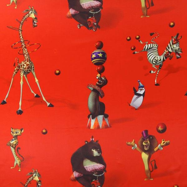 Roter Verdunkelungsstoff 'Madagascar'