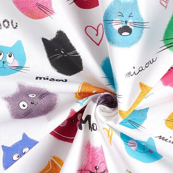 Tessuto cretonne per tende bambini gatti divertenti for Cretonne per arredamento e tappezzerie
