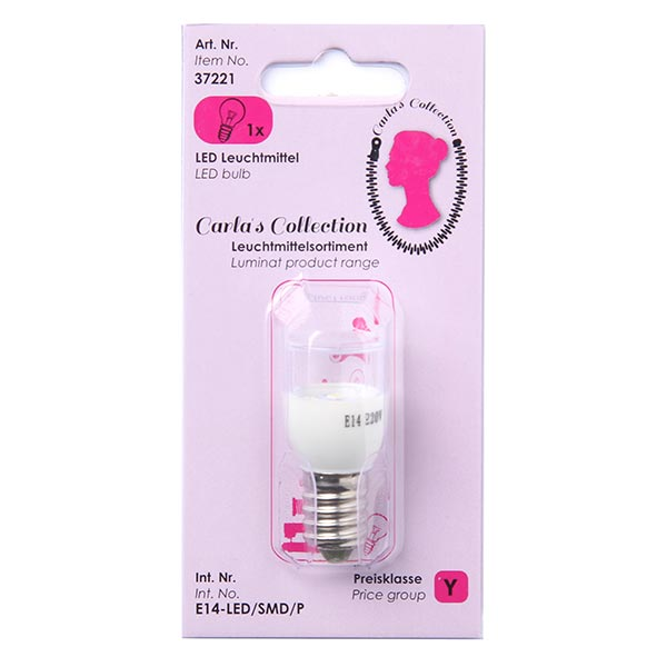 "LED-Glühbirne Carla's Collection"" E14 230 V|0,6 Watt"