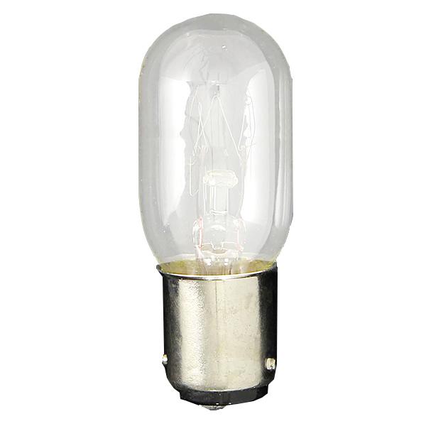 ampoule b15d 230 v 15 w 7 ampoules pour machine coudre. Black Bedroom Furniture Sets. Home Design Ideas