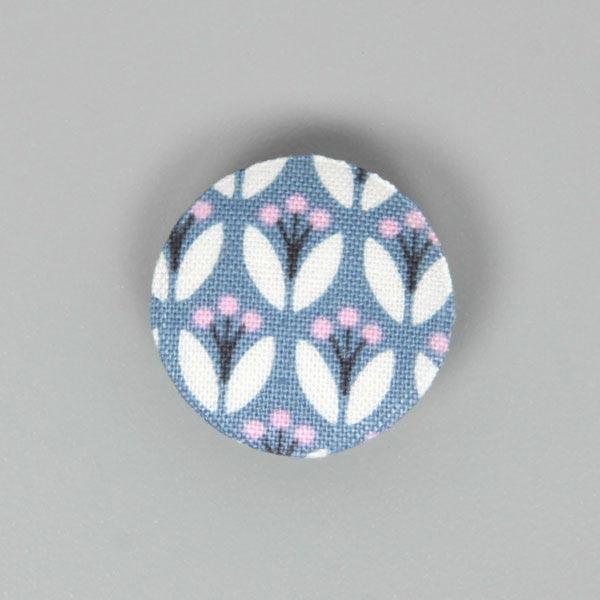 Button Fenton Flower 1