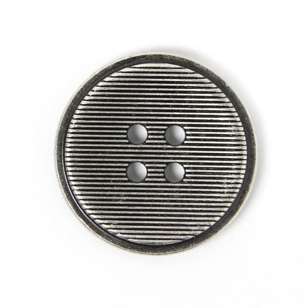 Metallknopf Fine Stripes 1