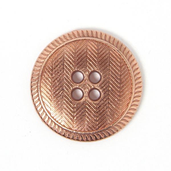 Metallknopf Kupfer
