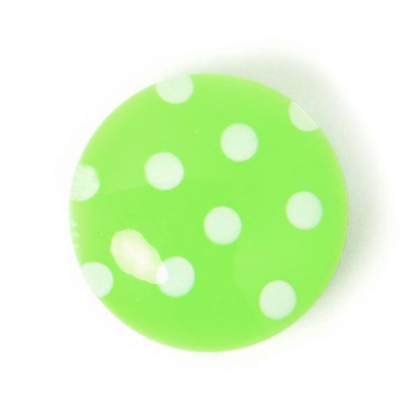 Kunststoffknopf Lilttle Dots 2