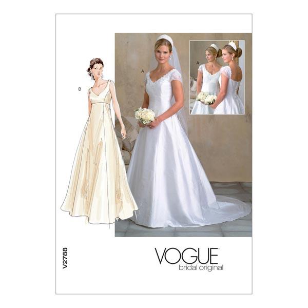 Abito Da Sposa 44.Abito Da Sposa Di Badgley Mischka Vogue 2788 44 48