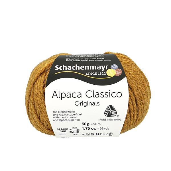 Alpakawolle in Gold