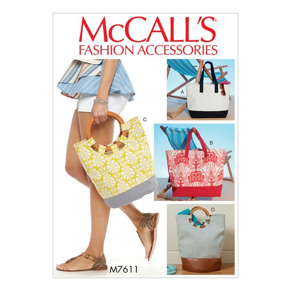 Cartamodelli per Borse Istruzioni in Inglese McCalls