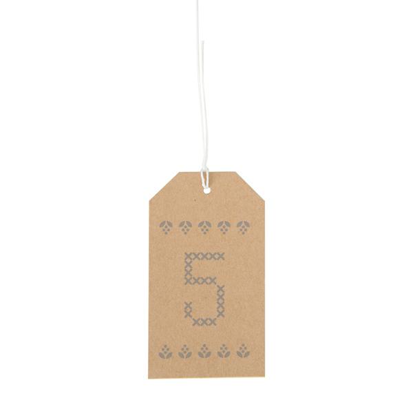 Numeri Per Calendario Avvento.Calendario Dell Avvento Numeri Naturale Rico