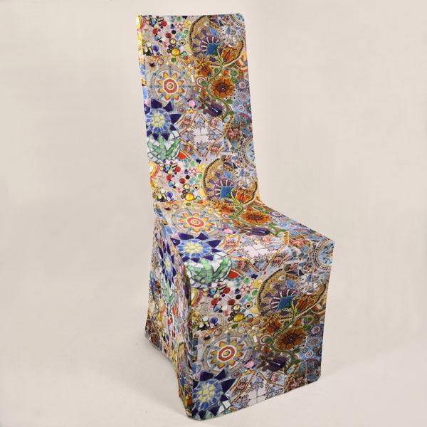 Cotton Mosaiques Modele Tissus De Decoration Impression Numerique Tissus Net