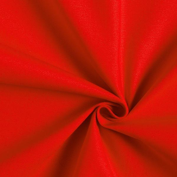 Unifarbener Stoff in Rot zum Dekorieren