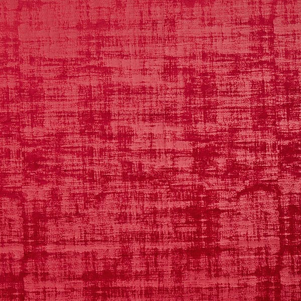 Veloursstoff in Rot