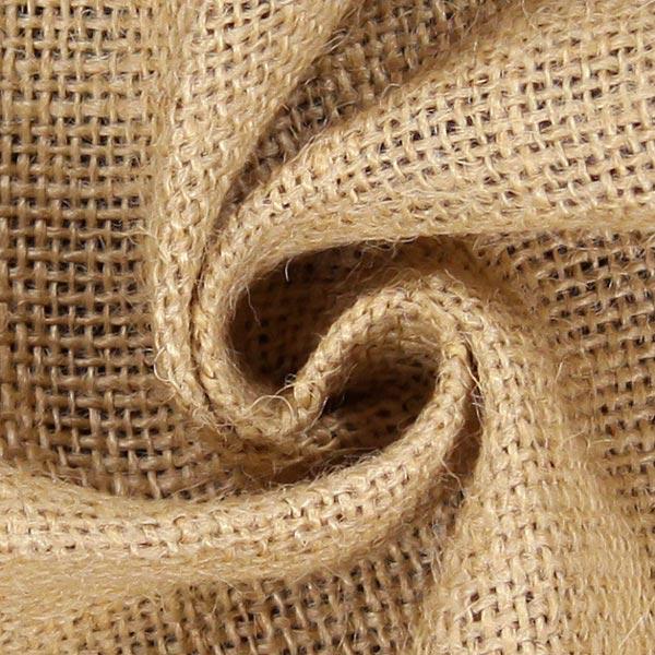 Tissu de décoration Jute 120 cm – nature