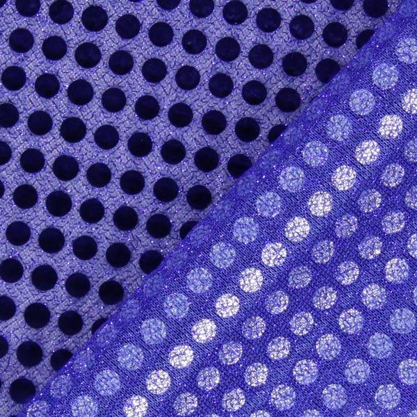 Jersey Paillettes 6 mm – bleu roi