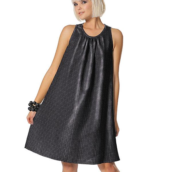 Jersey Paillettes 6 mm – noir