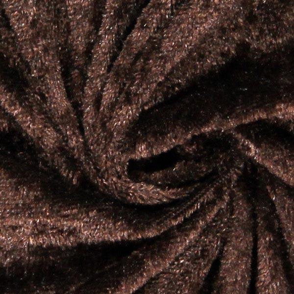 Pannesamt - dunkelbraun