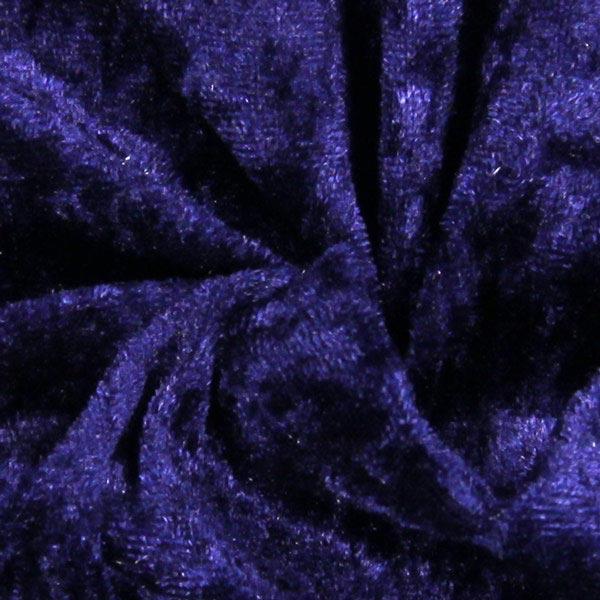 Pannesamt - marineblau