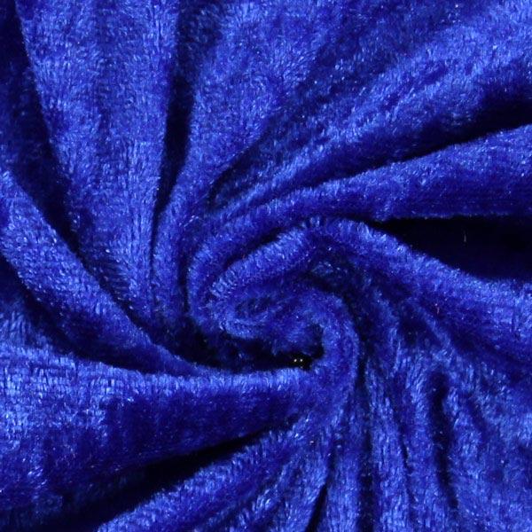 Pannesamt - königsblau