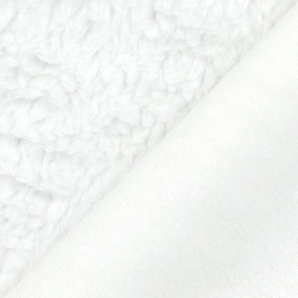 Imitation Fourrure d'Agneau – blanc