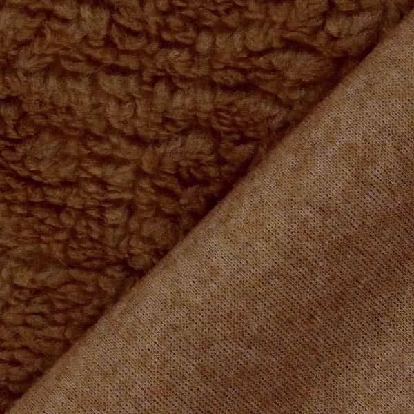 Imitation Fourrure d'Agneau – marron