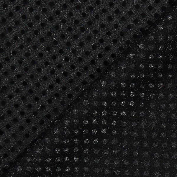 Jersey Paillettes 3 mm – noir