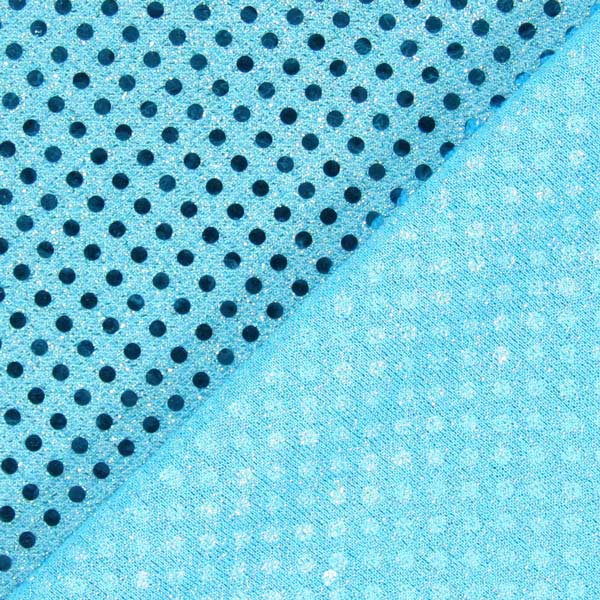 Jersey Paillettes 3 mm – turquoise
