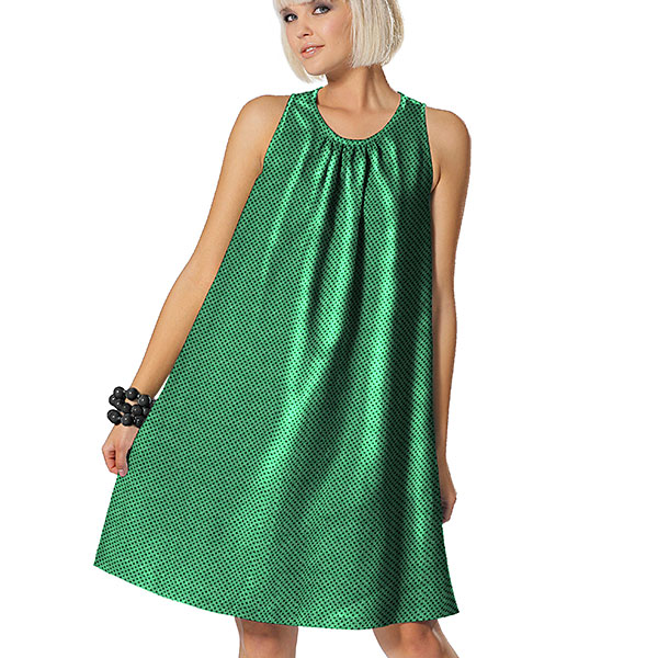 Jersey Paillettes 3 mm – vert herbe