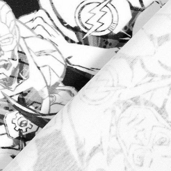 Jersey coton DC Comics Justice League – blanc