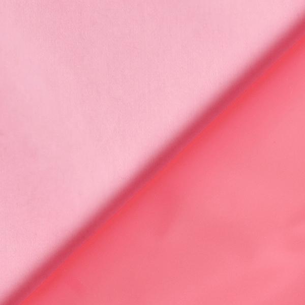 Veste imperméable tissu uni – rose vif