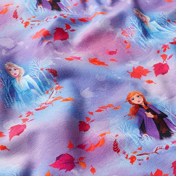 Jersey coton Impression numérique Reine des neiges Frozen 2 – rose