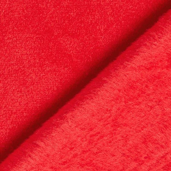 Polaire Nicki uni – rouge vif