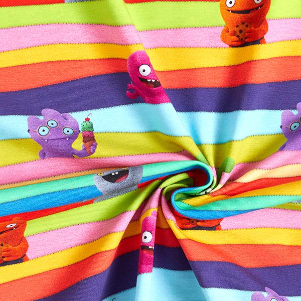 Jersey coton Ugly Dolls – mélange de couleurs