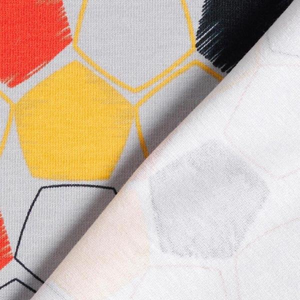 Jersey coton Motif football aux couleurs du pays | Coppenrath – argent