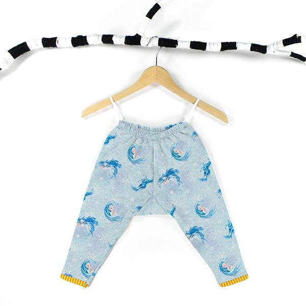 Sweatshirt gratté Reine des neiges 2   Disney – bleu bébé