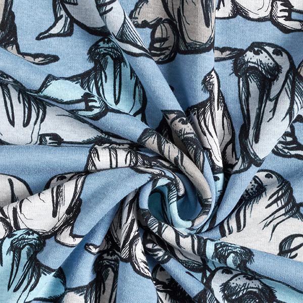 Polaire alpin Morses – bleu acier