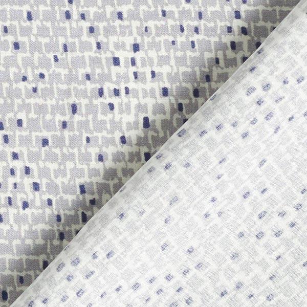 Tissu en viscose Murs abstraits – gris clair