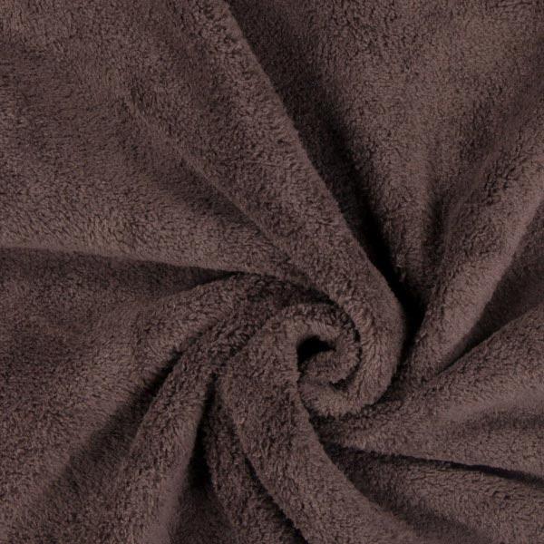 Tissu peluche Sophie – marron