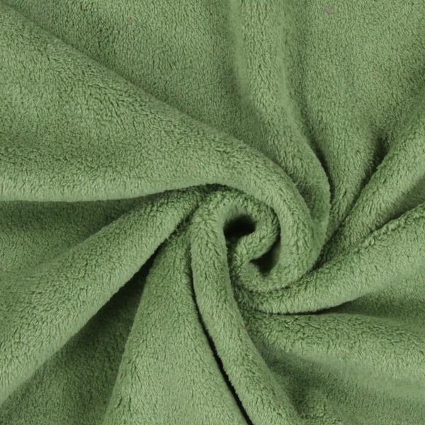 Tissu peluche Sophie – vert clair
