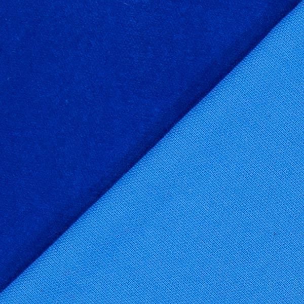 Velours coton – bleu roi