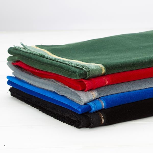 Velours coton – vert foncé