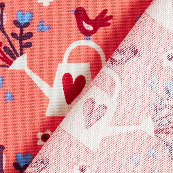 Canvas In My Garden Pour out love – saumon | Hamburger Liebe