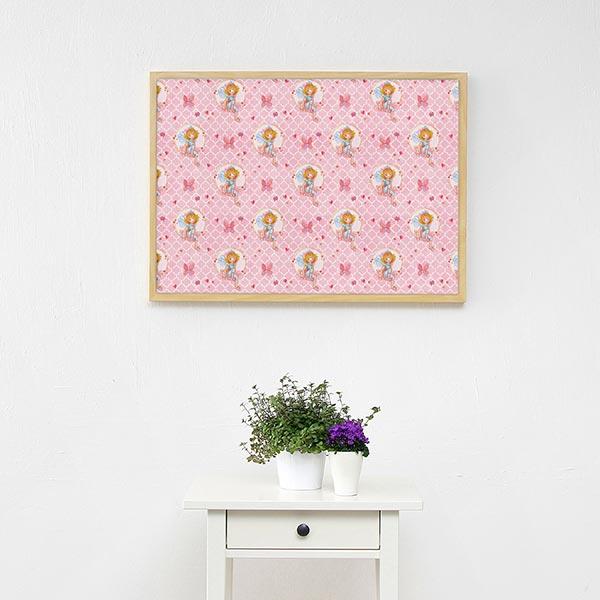 Tissu de décoration Semi-panama Impression numérique Princesse Lillifee Ornements | Coppenrath –
