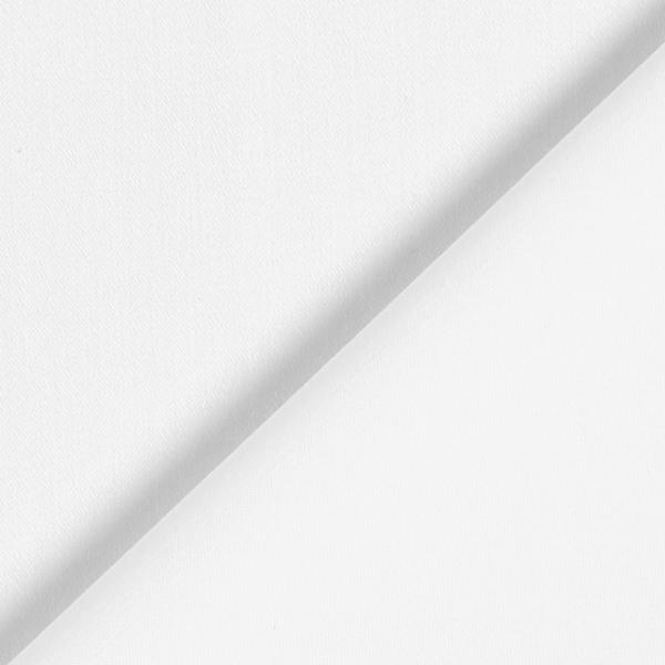 Sergé fin élastique Uni – blanc