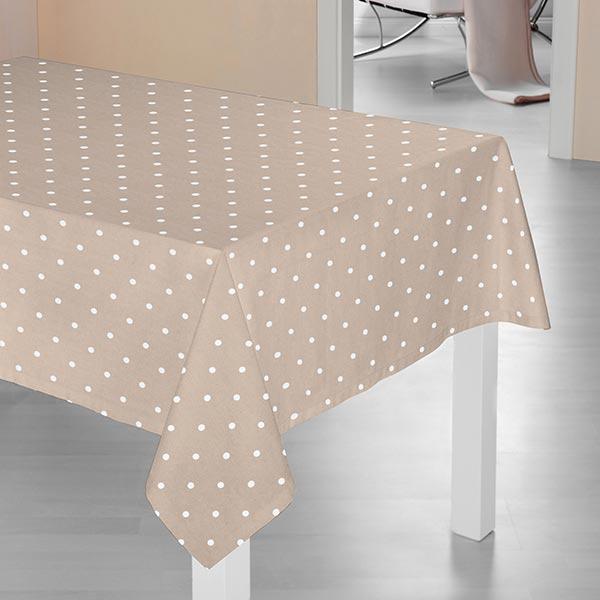 Tissu de décoration Points – beige