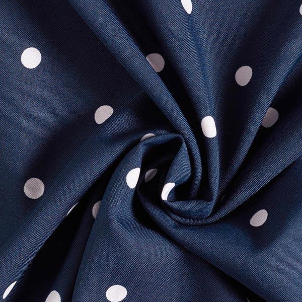 Tissu de décoration Points – bleu marine