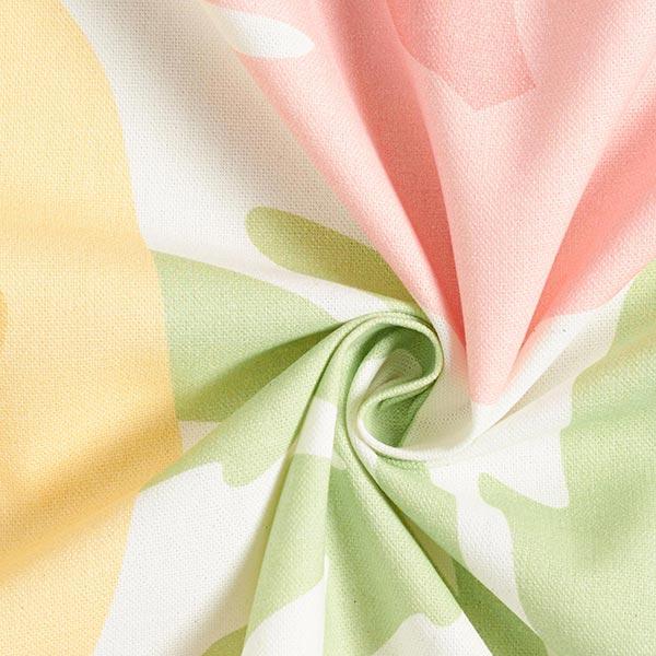 ARVIDSSONS TEXTIL – Tissu de décoration Semi-panama Donna – rose