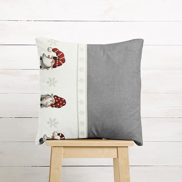 ARVIDSSONS TEXTIL – Tissu de décoration Semi-panama Julian & Co – gris