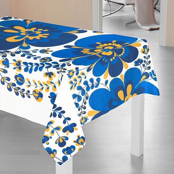 ARVIDSSONS TEXTIL – Tissu de décoration Semi-panama Viveka – bleu