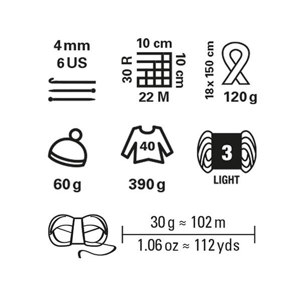 Fashion Pieces, 30 g   Schachenmayr (00133)